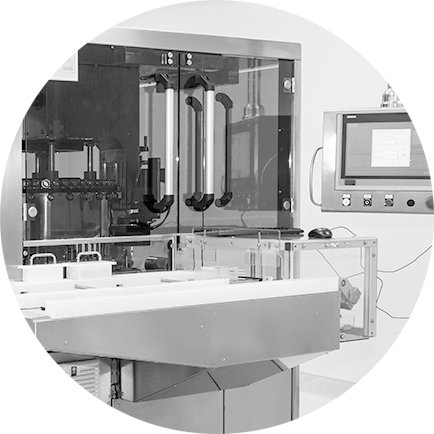 The multistage quality control system provides input control of raw materials, control of the production process and quality control of the produced medicines.