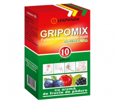 Grippomix with fructose